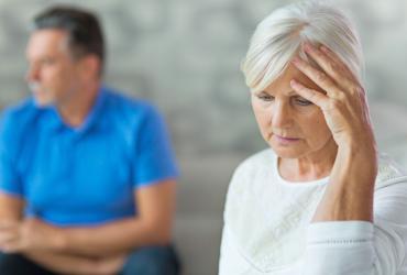 Un couple ayant des problèmes d'impuissance